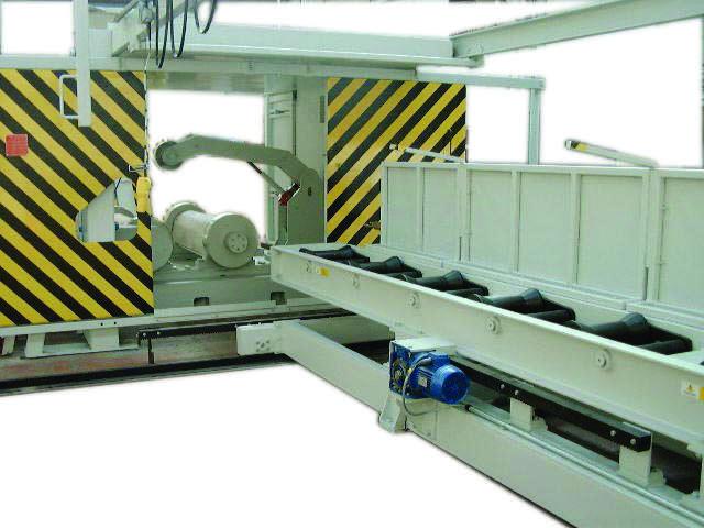 GCRH A range Horizontal Centrifugal Casting Machine
