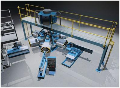 AMH 6(Carousel) centrifugal casting machine.