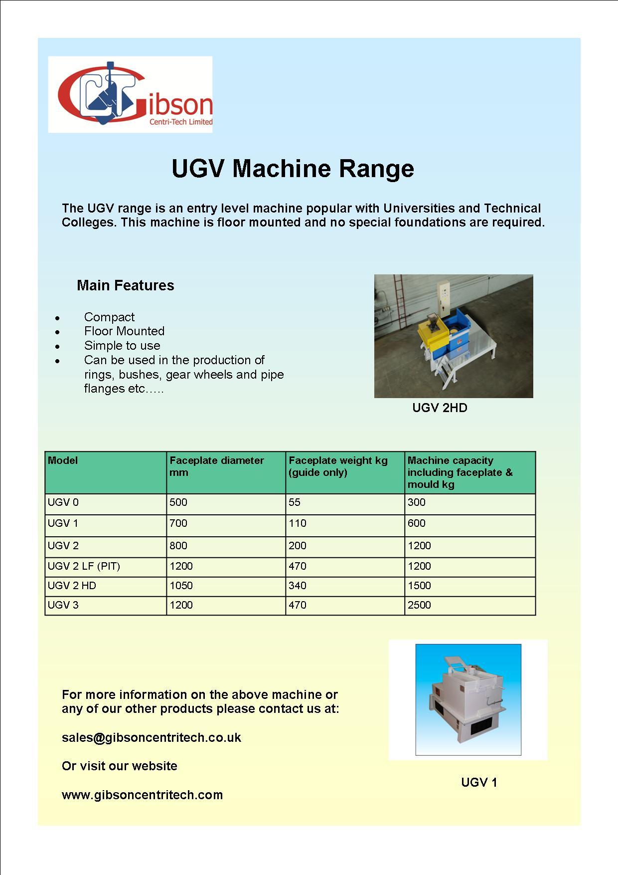UGV Machines
